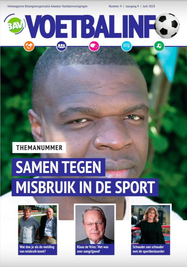 BAV-voetbalmagazine: 'Van Slachtoffer Naar Boegbeeld En Aanjager'