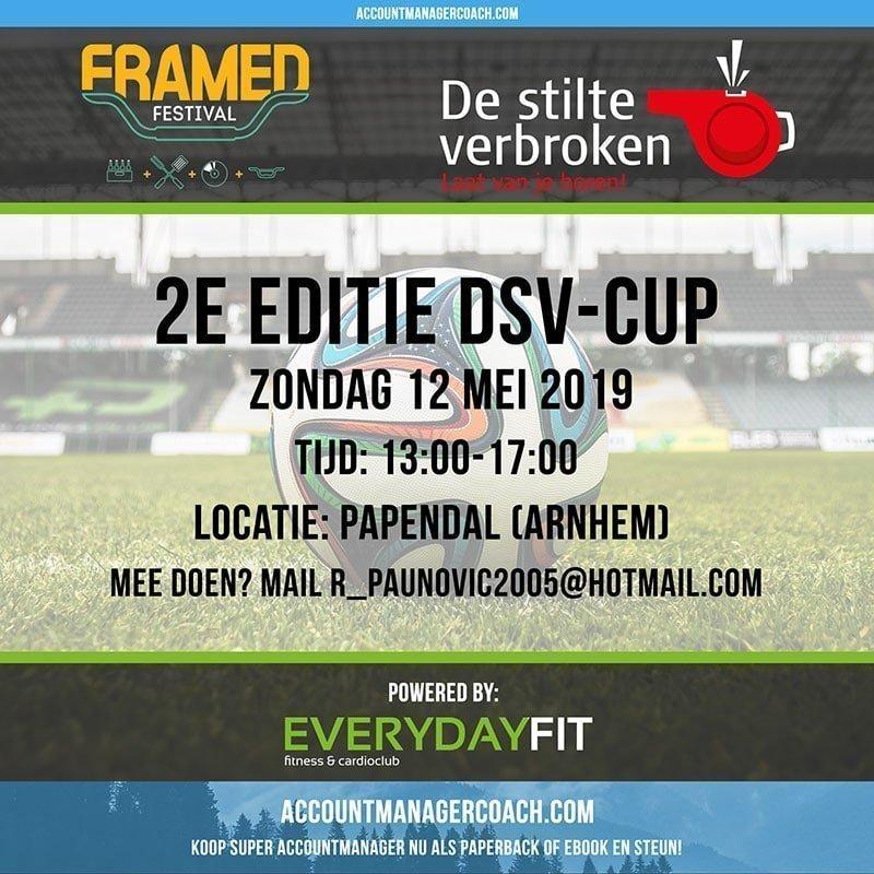 Voetbal Mee Voor De DSV-cup Op Het Framed Festival 12 Mei A.s.!